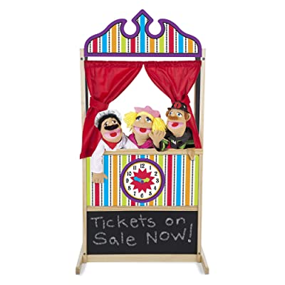 Melissa & Doug Puppet Theater: Melissa & Doug: Toys & Games