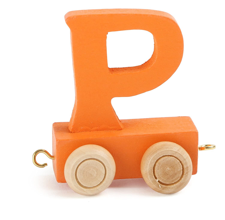 Checklife Eisenbahn BUCHSTABENZUG NAMENSZUG bunt Holzbuchstaben Buchstaben Geburtstagszug A