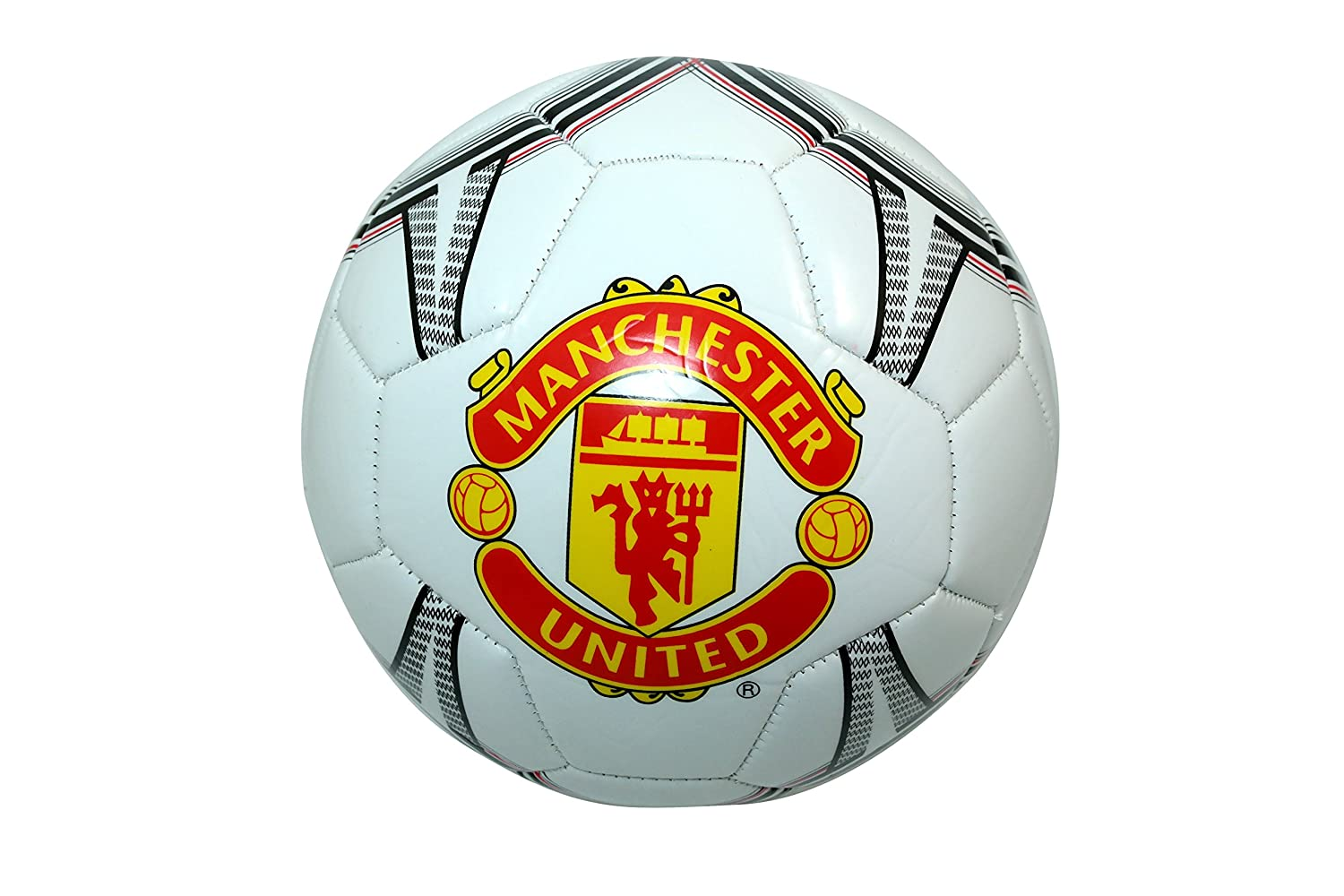 Manchester United FC Authentic Official Licensedサッカーボールサイズ5 -001 B00WAT49TC