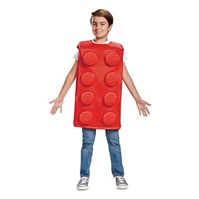 Lego Classic Red Brick Costume for Kids: Toys & Games