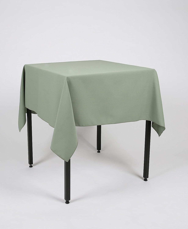 Marvelous Sage Green Square Lightweight Fabric Tablecloth 48 X 48 121Cm X 121Cm Polyester Not Cotton Spiritservingveterans Wood Chair Design Ideas Spiritservingveteransorg