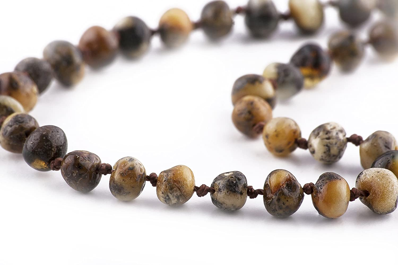 お手頃価格 The Art of Amber Cure B01FL11YAC Raw Amber Teething Necklace Art - FTIR Lab Tested Authentic Amber (Raw Green) by The Art of Cure B01FL11YAC, Orange Line:2f607315 --- a0267596.xsph.ru