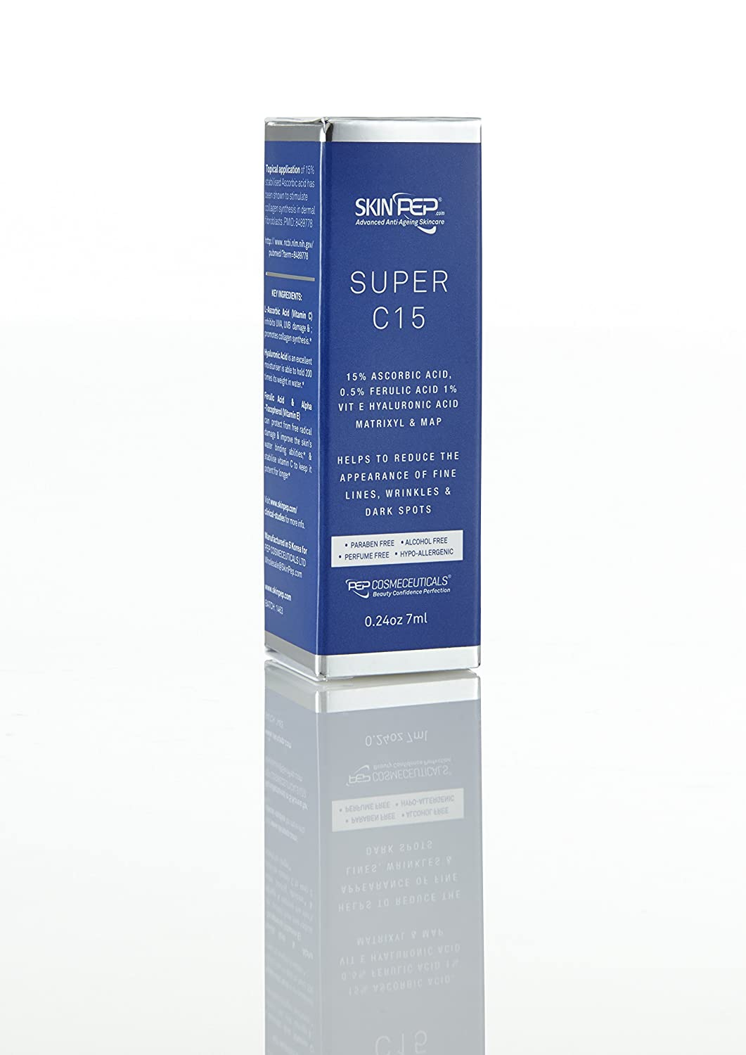 SkinPep ® Super C15 Serum 7ml: Amazon.es: Salud y cuidado ...