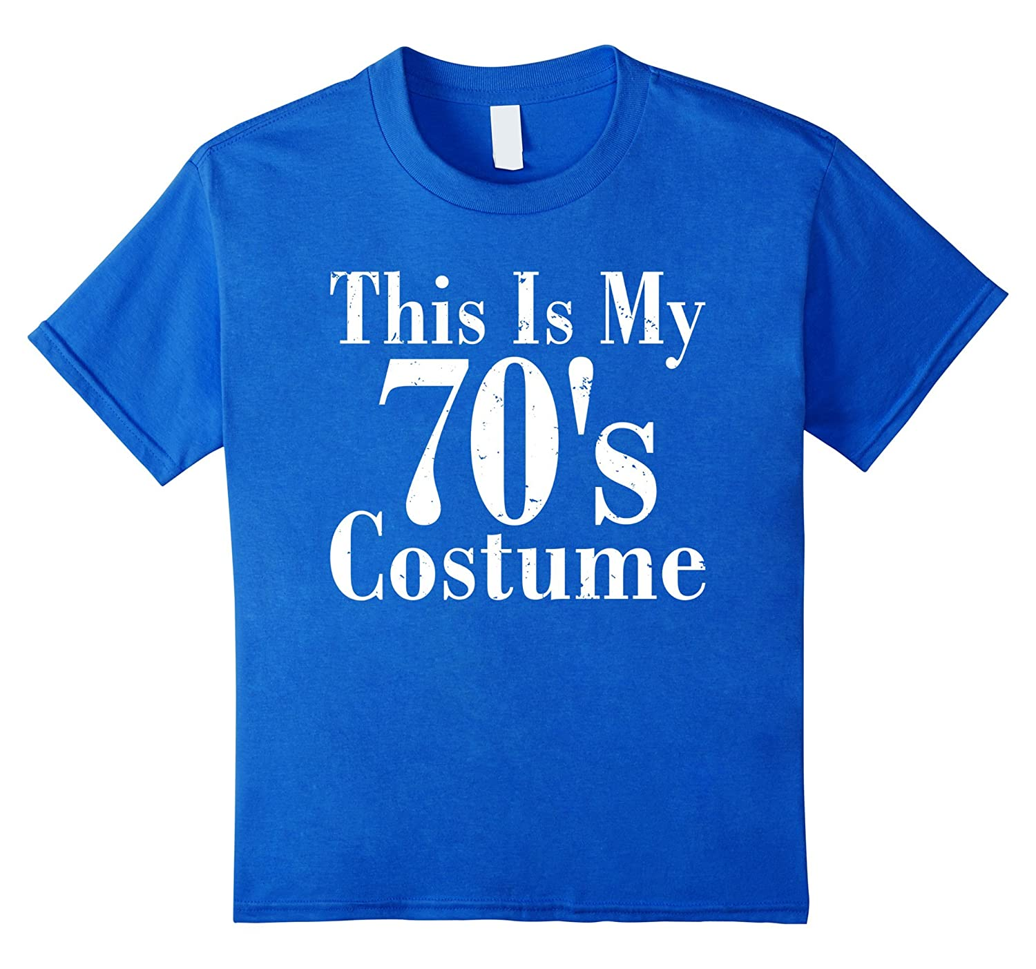 Amazon.com: This Is My 70s Costume Grand Old Time Gift Funny T-Shirts: Clothing