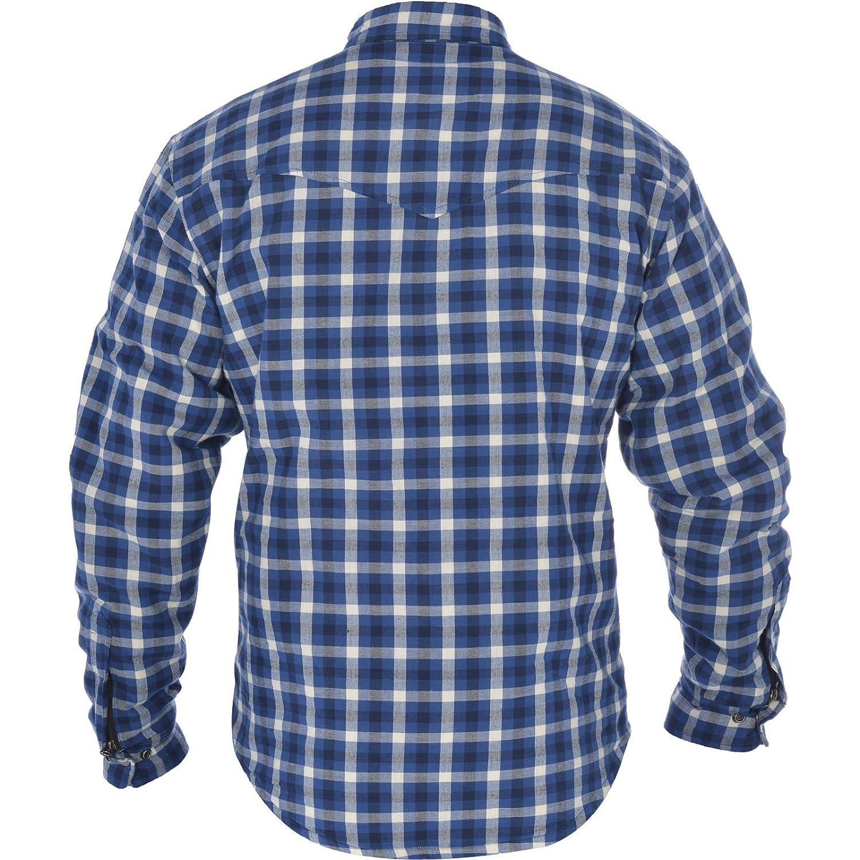 Oxford Mens Kickback Kevlar Shirt Red//Black, XX-Large//46