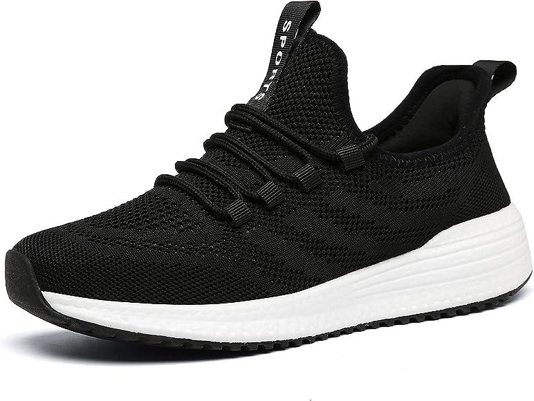 IPETSUN Womens Running Tennis Shoes