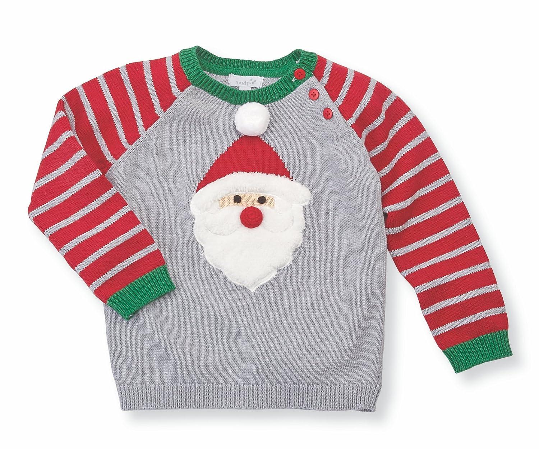 Mud Pie Boys Santa Sweater 11080020