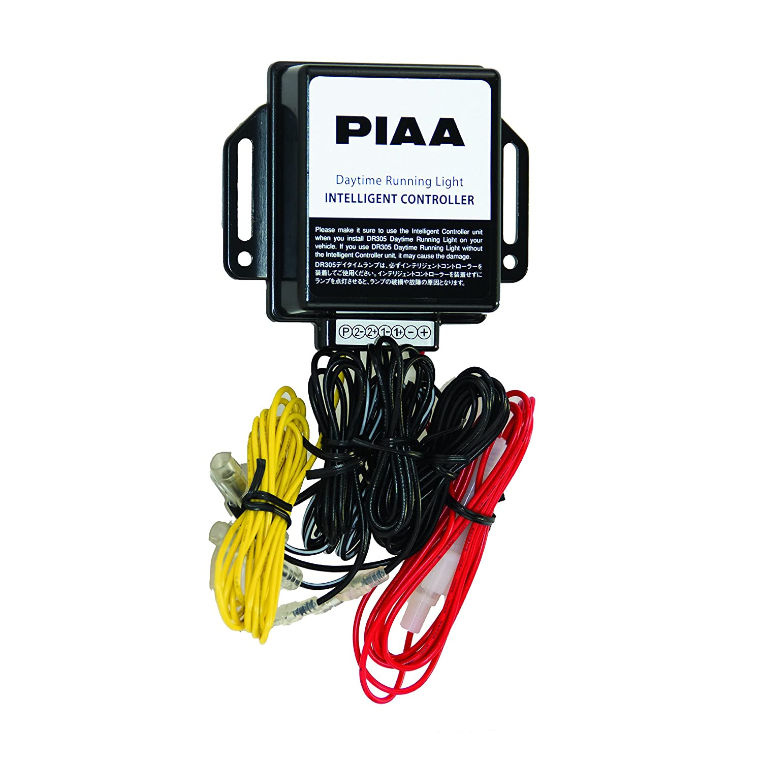 Amazon.com: PIAA 34305 Wiring Harness for DR305 DRL Light Kit ... on radio harness, pet harness, obd0 to obd1 conversion harness, battery harness, pony harness, alpine stereo harness, fall protection harness, cable harness, swing harness, safety harness, electrical harness, maxi-seal harness, suspension harness, engine harness, nakamichi harness, dog harness, amp bypass harness, oxygen sensor extension harness,