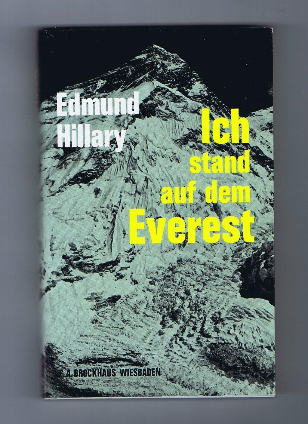 Ich stand auf dem Everest. Meine Erstbesteigung mit Scherpa Tensing