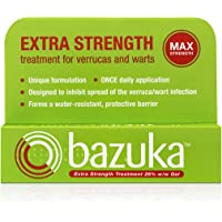 Bazuka Extra Strength Treatment Gel with Emery Board, 6g