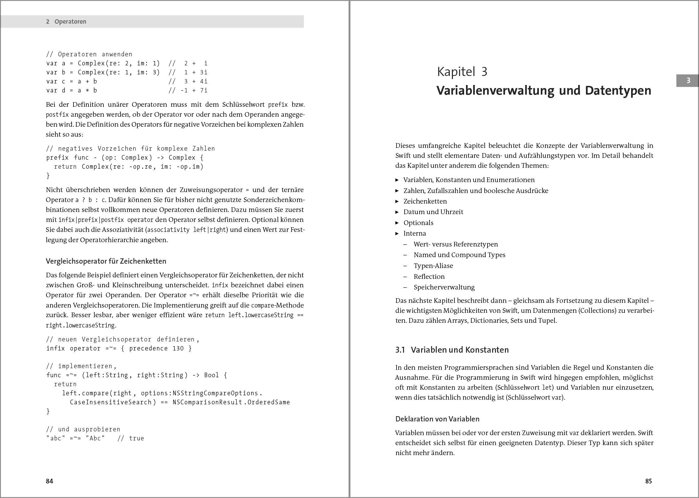 Swift 2: Das umfassende Praxisbuch. Apps entwickeln für iOS und OS X ...