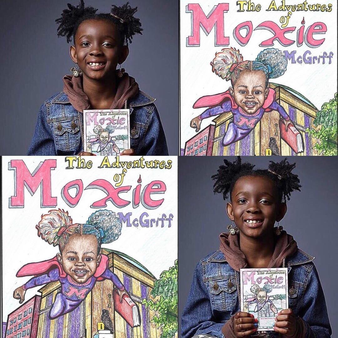 The Adventures of Moxie McGriff: Moxie McGriff Saves the Library Part Two: Natalie  McGriff, Angie Nixon, Tia R. Thomas, Roosevelt Watson, Erin Kendrick:  9780996753715: Amazon.com: Books