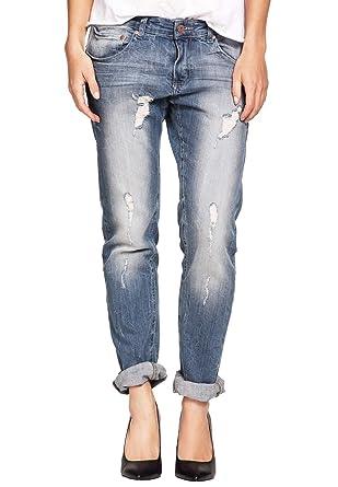 b1cad7797a Ellos Women s Plus Size Boyfriend Jeans at Amazon Women s Jeans store