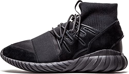 Yogur Ponte de pie en su lugar reptiles  adidas Tubular Doom Triple Black: Amazon.co.uk: Shoes & Bags