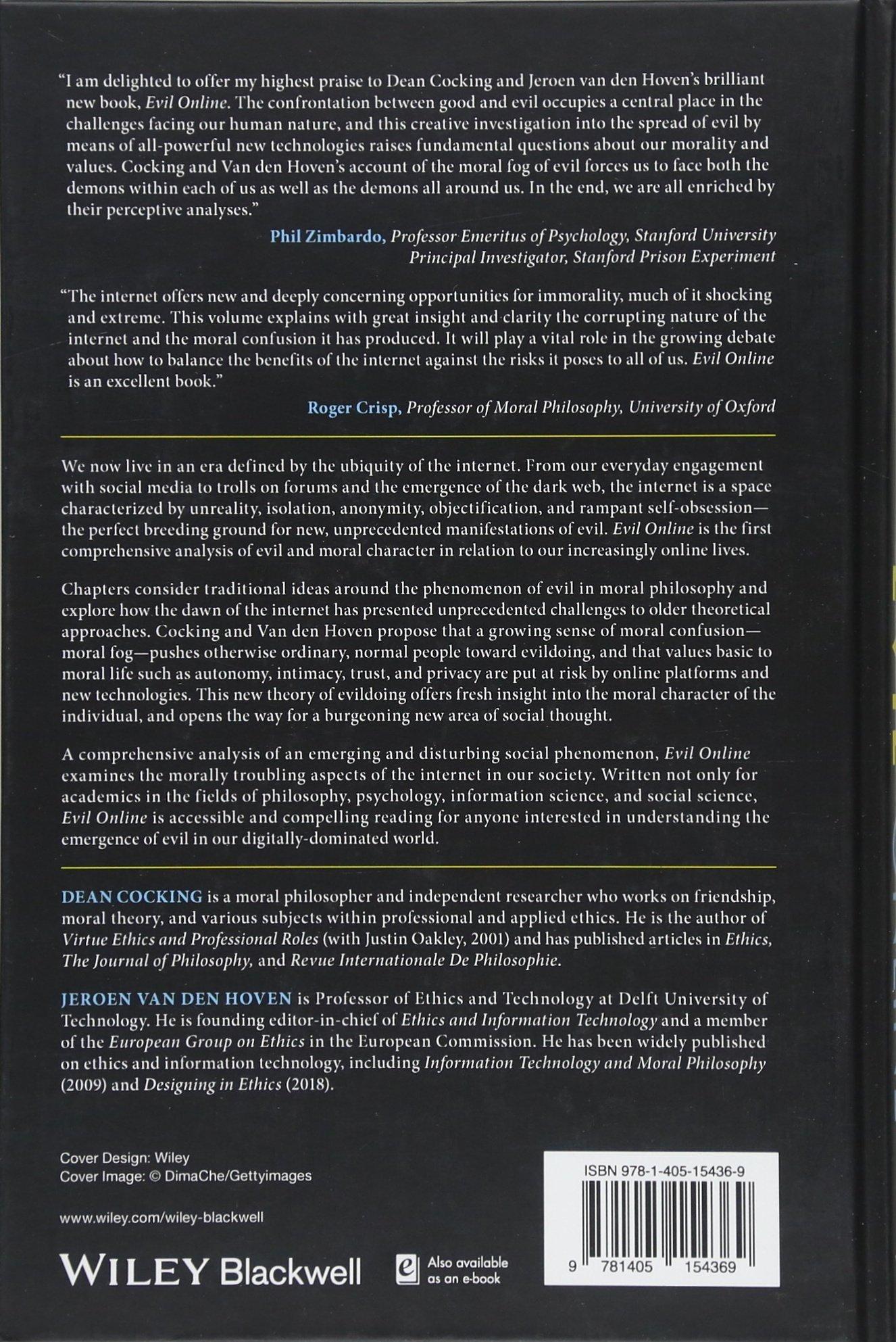 Buy Evil Online (Blackwell Public Philosophy Series) Book