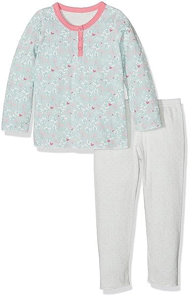 Petit Bateau Decousu, Pijama de Dos Piezas para Bebés, Crystal/Multico 57,