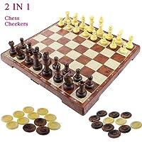 """Fixget 2 en 1 juego de ajedrez-12 """"x12"""""""