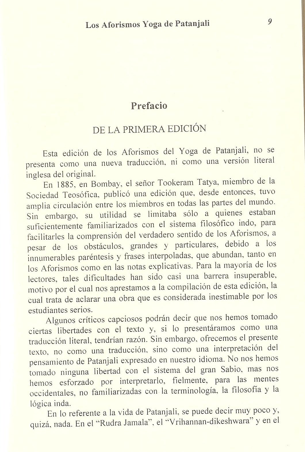 Los Aforismos Yoga de Patanjali. (Spanish Edition): Una interpretacion de W. Q. Judge, Berbera Editores: 9789685566438: Amazon.com: Books
