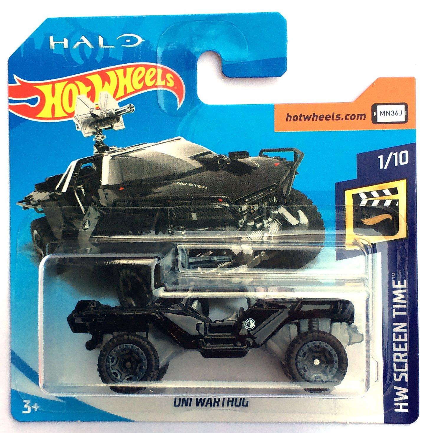HotWheels FJW33 - HALO ONI Warthog black (HW Screen Time 1
