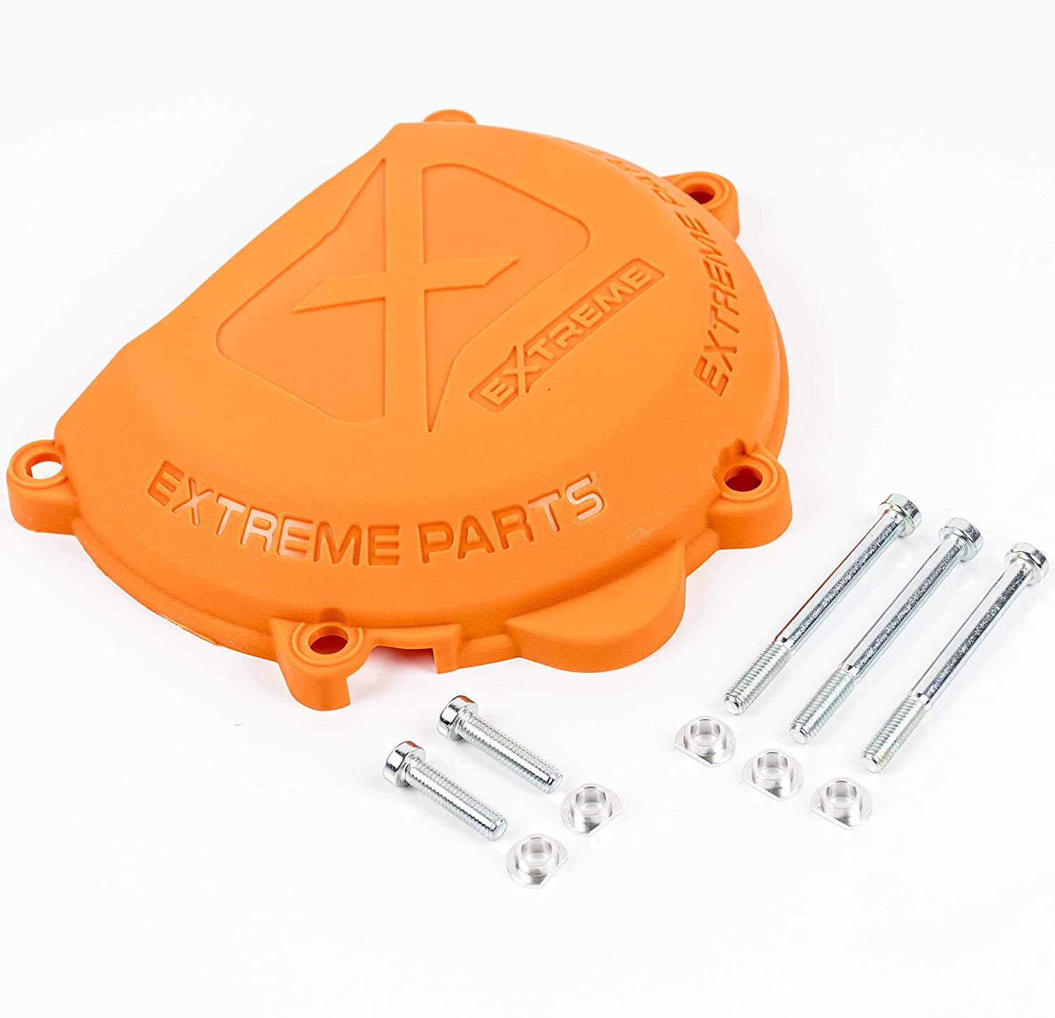 Orange Clutch Cover Protector Guard for 2 Stroke Engine KTM and Husqvarna 250 300 Year 2012-2016 Extreme Parts