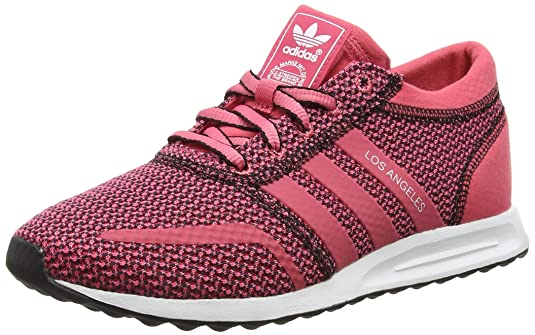 bdacf25f3d9c8f adidas Originals Damen Los Angeles Sneakers rosa weiß Einheitsgröße   Amazon.de  Schuhe   Handtaschen