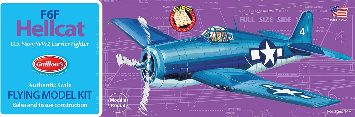 Guillow's F6F Hellcat Model Kit