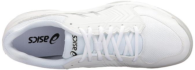 ASICS Chaussure de tennis Gel US/ Dedicate 13 5 pour homme , Blanc/ Argent , 13 M US 242da19 - swzone.info