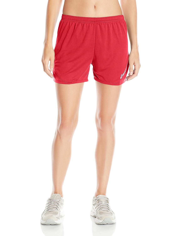 (X-Small, Red) - ASICS Women's Rival II Shorts   B01BCROAJG