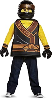 Cole LEGO Ninjago Movie Classic Costume Yellow/Black Small (4-6  sc 1 st  Amazon.com & Amazon.com: Disguise Cole LEGO Ninjago Movie Deluxe Costume Yellow ...