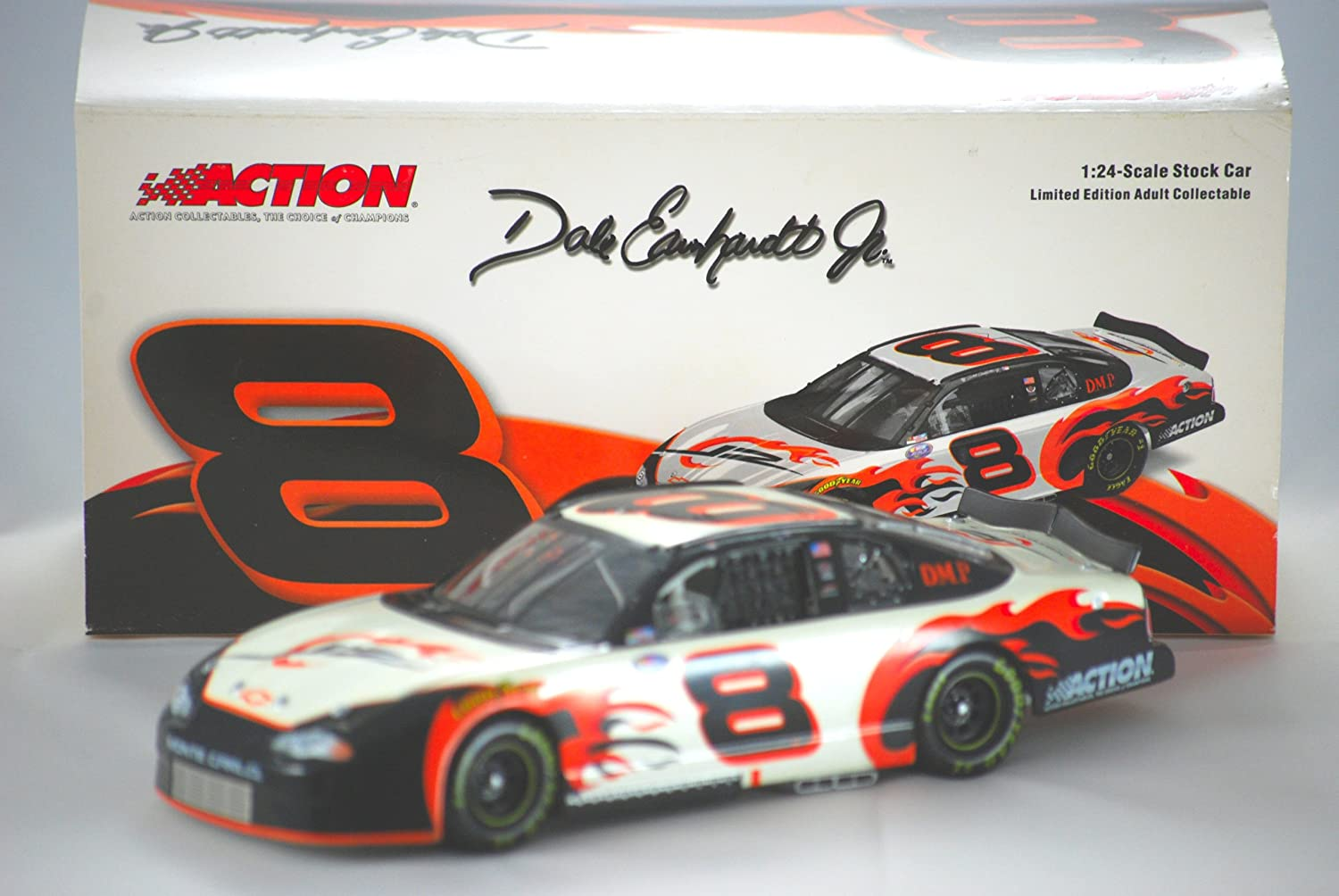 2003 - Action - NASCAR - Dale Earnhardt Jr 8 - D.M.P. - 1 of 59,796 - Out of Production - Limited Edition - 1:24 Scale by NASCAR