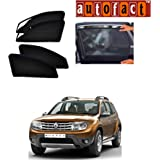 Autofact Car Accessories Zipper Magnetic Sunshades (Renaults Duster)