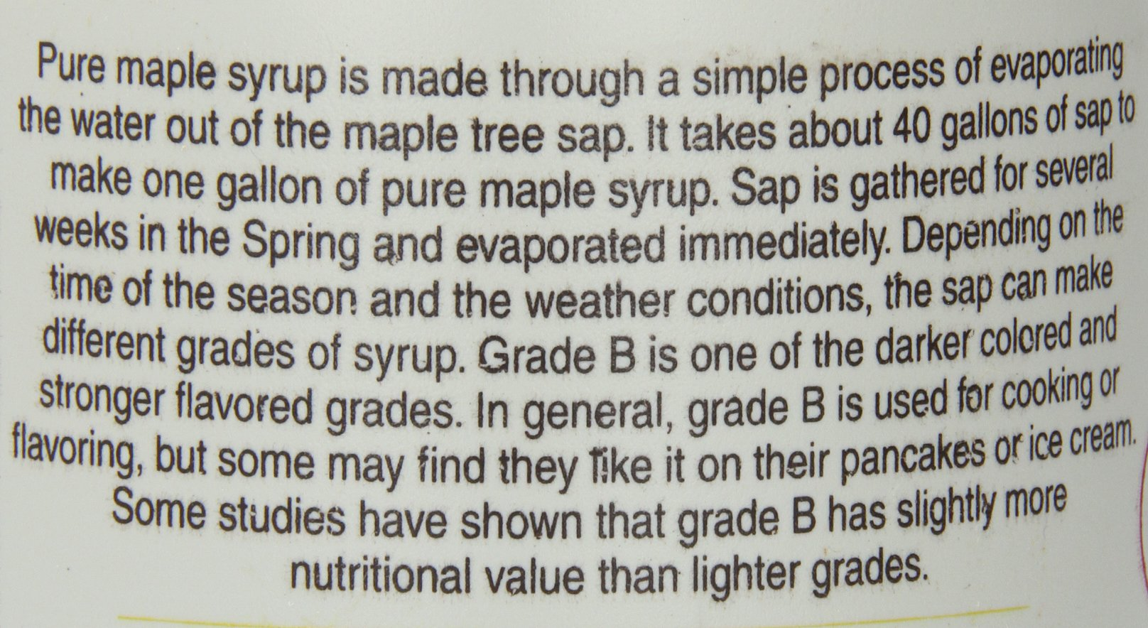 Anderson's Pure Maple Syrup, Grade A Very Dark/Grade B, 32 Ounce (Frustration Free Packaging) by Anderson's (Image #4)