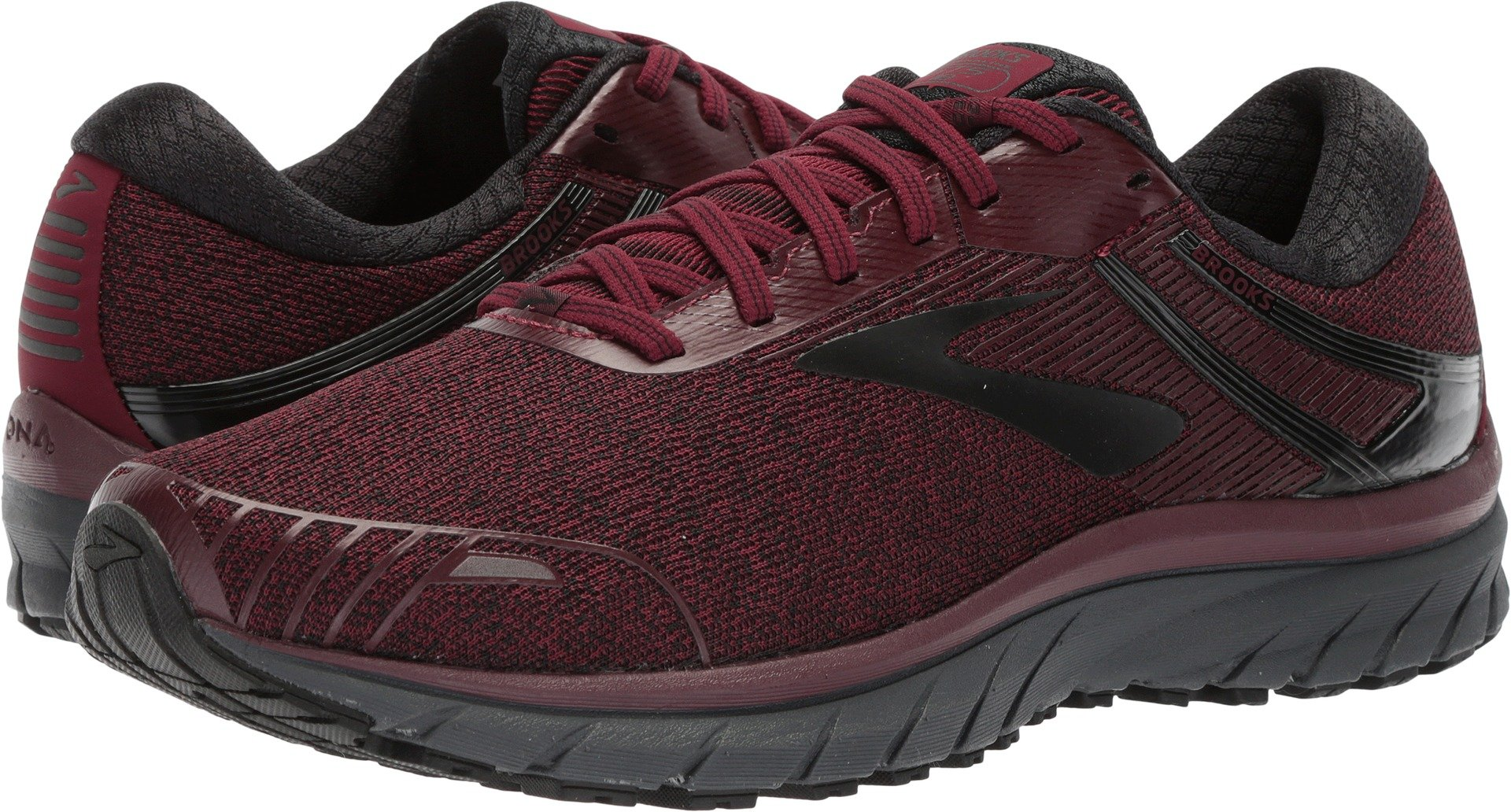 a2f90a52fff Galleon - Brooks Men s Adrenaline GTS 18 Tawny Port Grey Black 14 D US D (M)