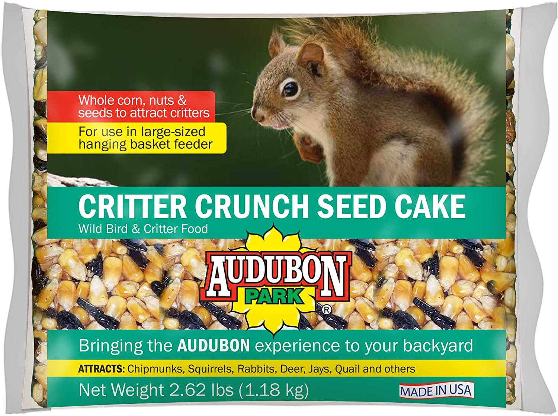 Audubon Park 11933 Critter Crunch Seed Cake, 1-Pack
