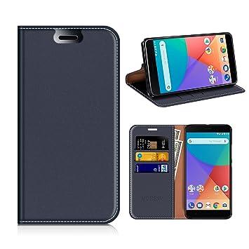 MOBESV Funda Cartera Xiaomi Mi A1, Funda Cuero Movil Xiaomi Mi A1 ...