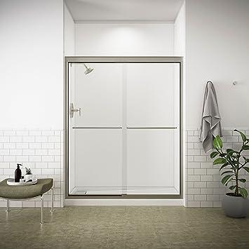 Kohler K 702207 L Nx Fluence 38 Inch Thick Glass Bypass Shower Door