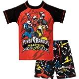 Power Rangers Boys' Ninja Steel Two Piece Swim Set