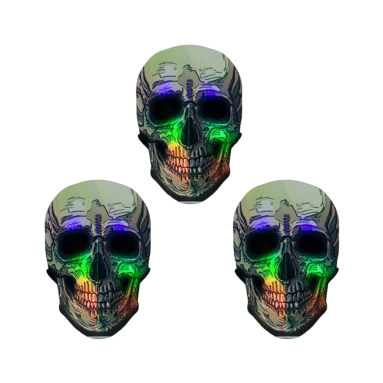 Britannia Darts 9 St/ück 2D Skull Flights Metallic