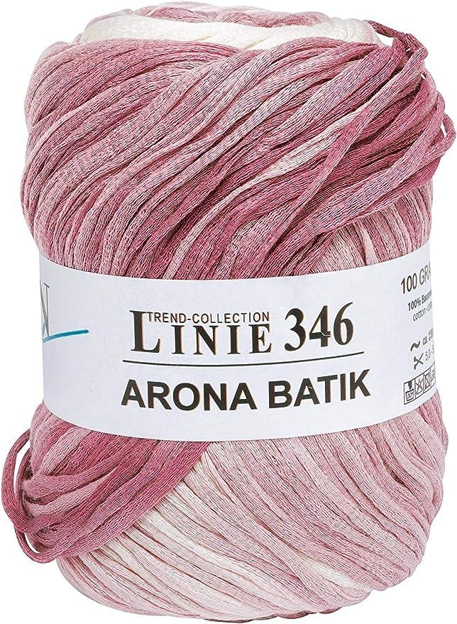Online - Lana «Arona Batik 346», hilo de 100 g, 100 % algodón ...