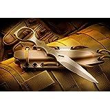 Spartan Blades CQB Tool Fixed Blade Fighting Knife Kydex Sheath