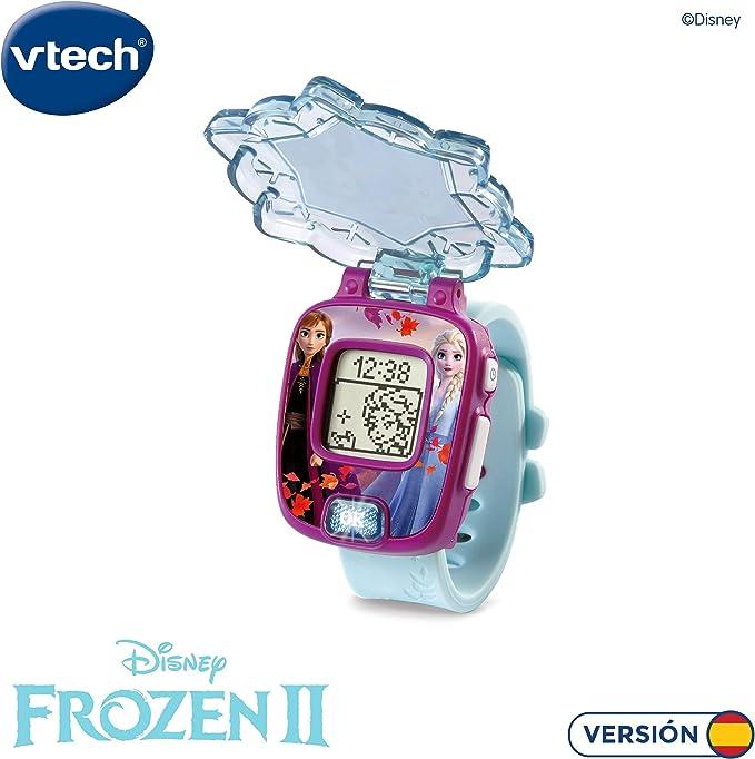 VTech Frozen 2 Reloj Digital (Anna y Elsa), Multicolor, única (3480-518822): Amazon.es: Juguetes y juegos