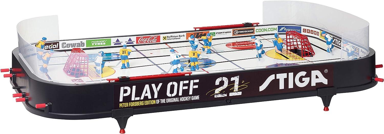 Black//White Stiga Play Off 21 Sverige-Finland Eishockey Game 96 x 50 cm