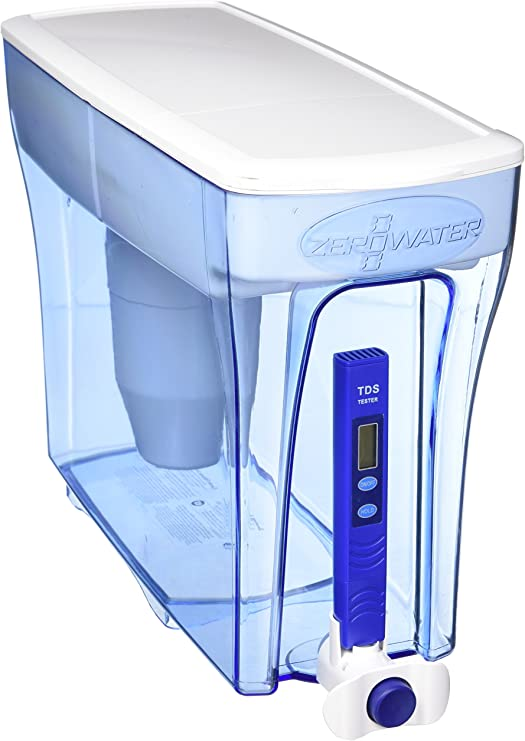 Zerowater 23 7 30 Tassenspender Inkl Gratis Tds Meter Amazon