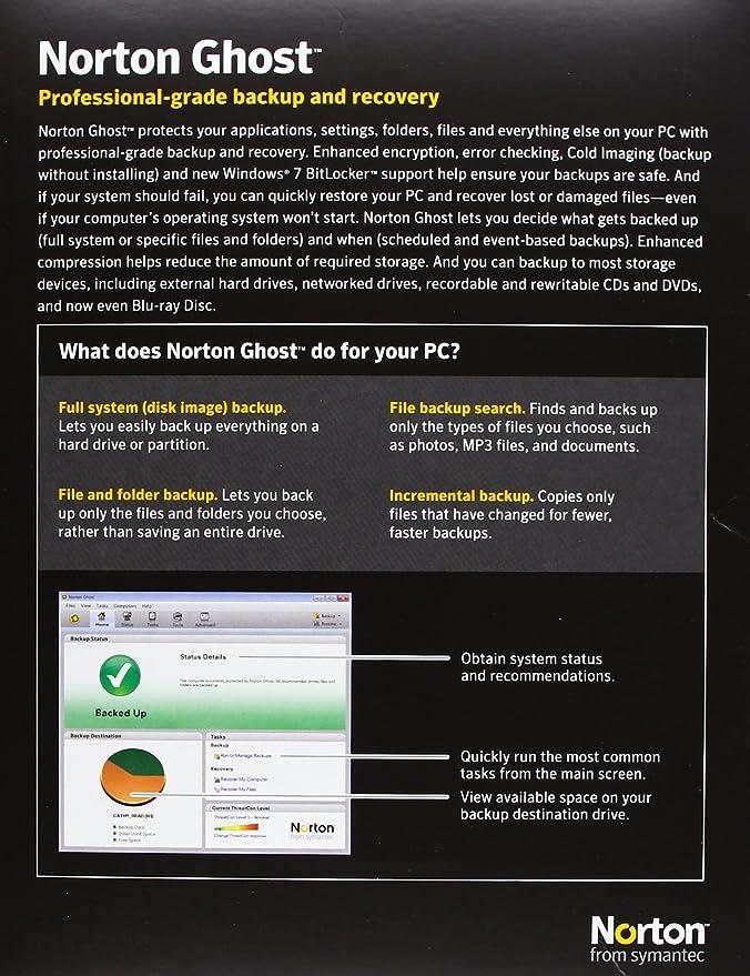 Norton Ghost 15 - 1 User (PC)