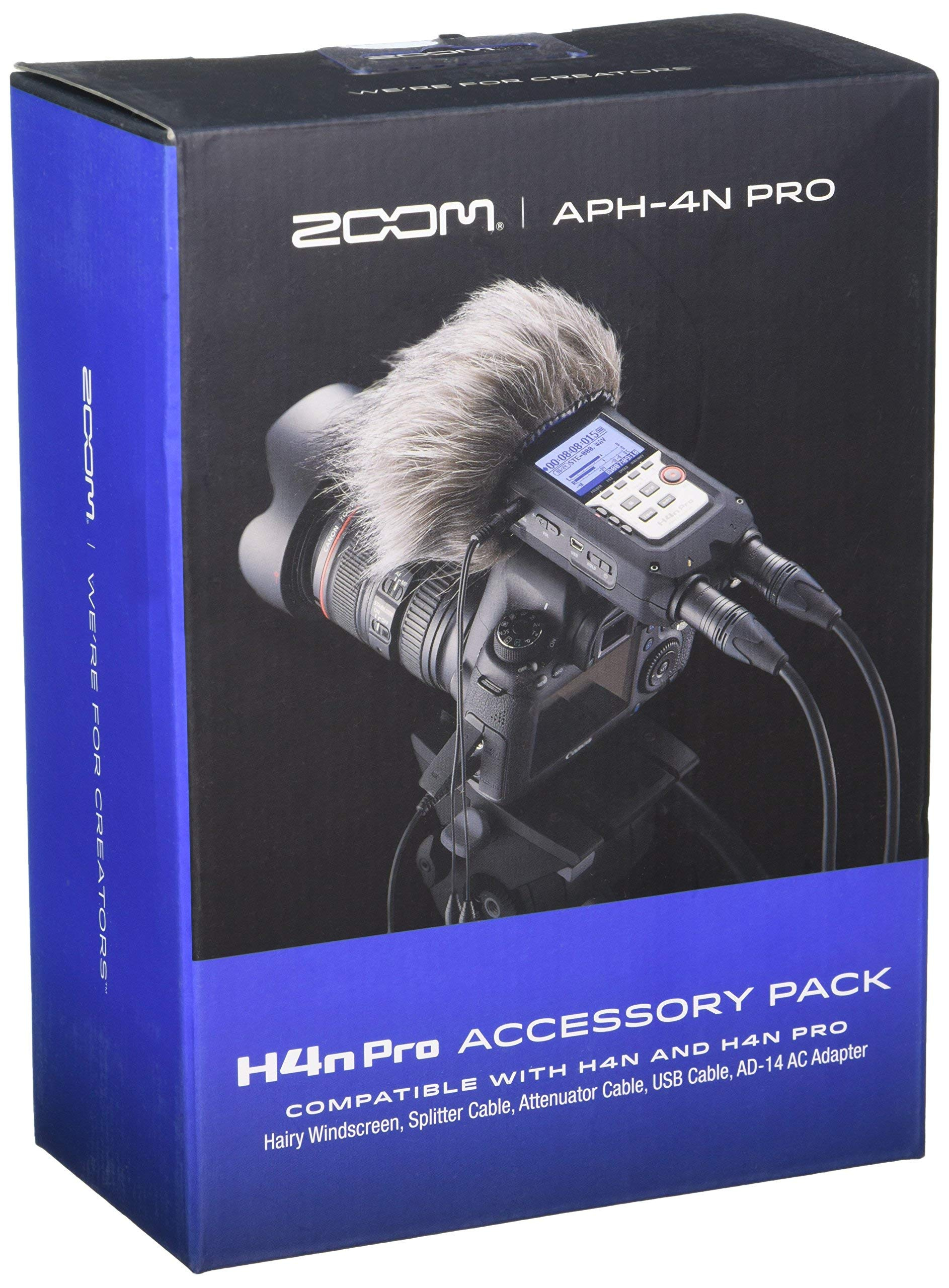 Zoom APH-4nPro Accessory Pack for H4n Pro (Renewed)