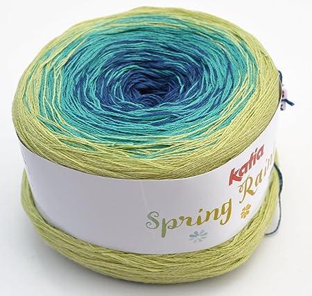 Amazonde Katia Spring Rainbow Fb 67 Bobbel Wolle