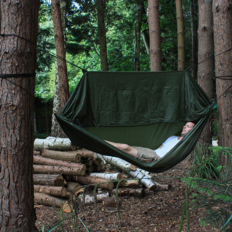 Andes Hamac de camping /équipement pour la jungle//la randonn/ée//la survie//les militaires//le bushcraft