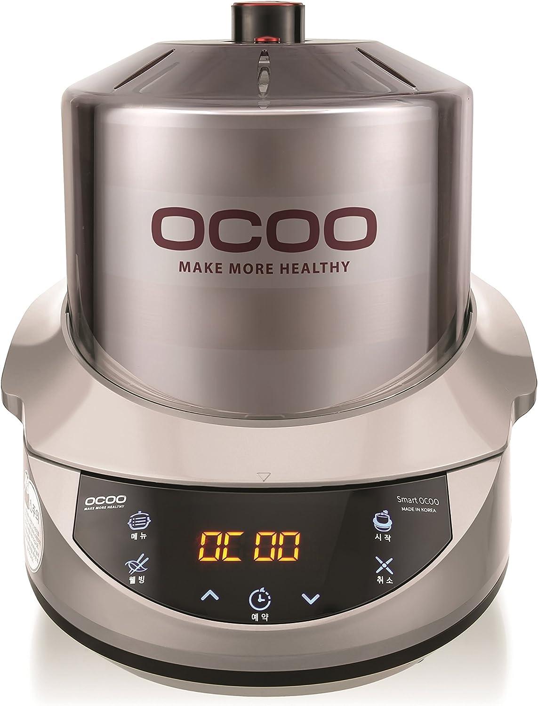 Smart OCOO Metal Silver OC-S1120S Slow Electric Cooker 120V/60Hz