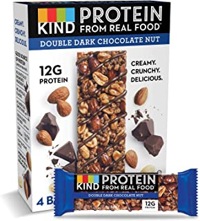 product image for KIND Protein Bars, Double Dark Chocolate Nut, Gluten Free, 12g Protein,1.76oz, 24 count