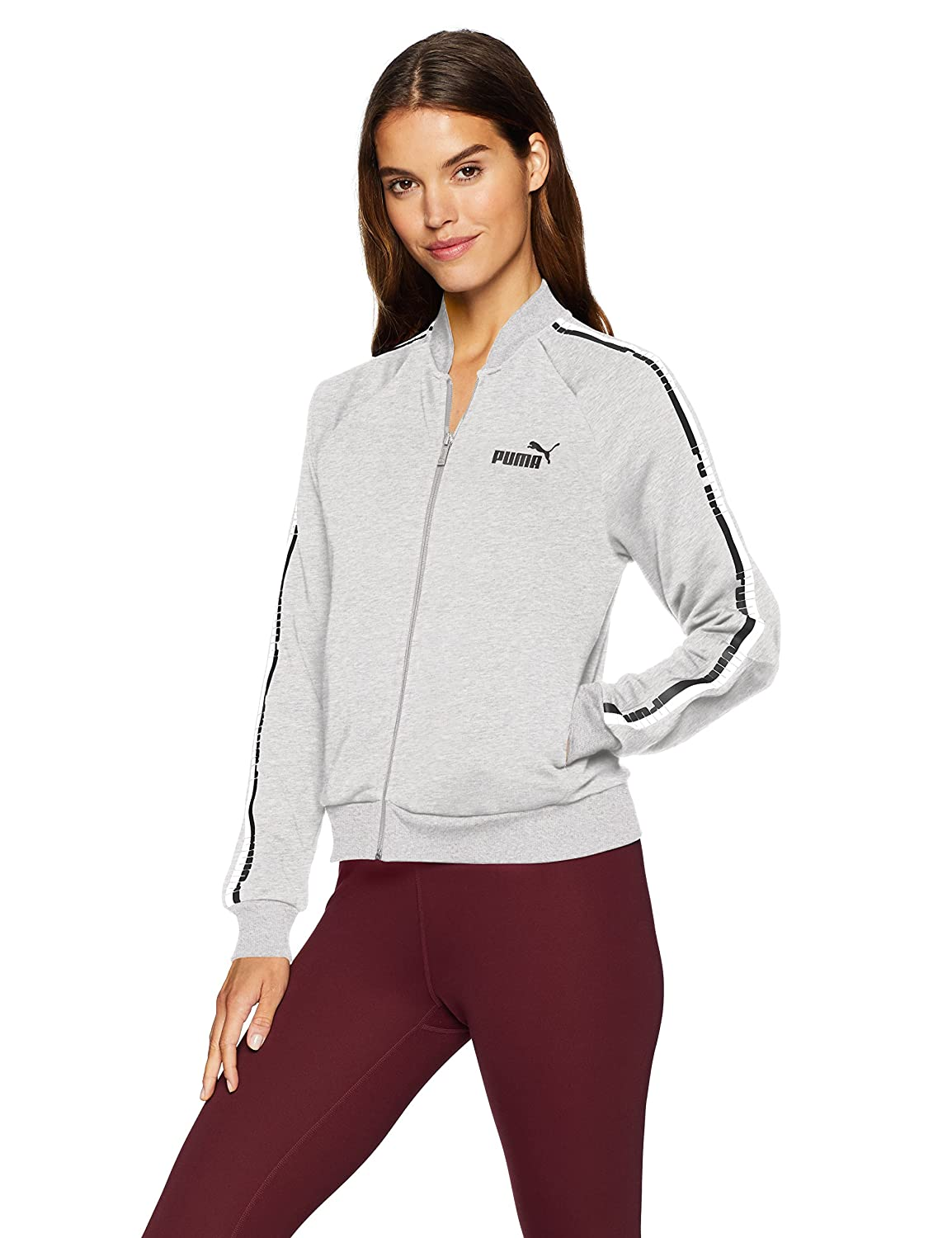PUMA Womens Standard Tape FZ Jacket TR